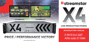 Streamstar X4 NAB Special Launch Price