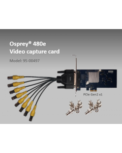 Osprey-480e, 8x Composite video capture card