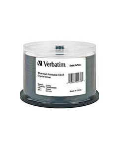 Verbatim White CD-R Crystal Thermal (50)