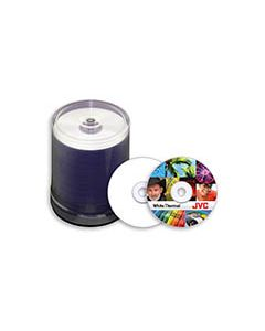 JVC White DVD-R Thermal for Prism (100)