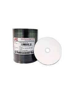 JVC White Inkjet DVD-R  (100)