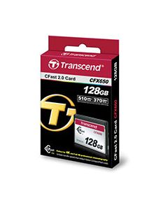Transcend 128GB CFX650 for Blackmagic URSA cameras